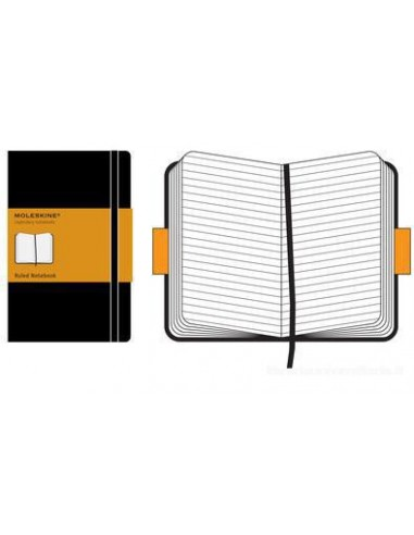 GUT -  Moleskine large. Taccuino a righe